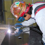 Fabrication of shielding material to install in switchgear room to reduce electromagnetic fields.